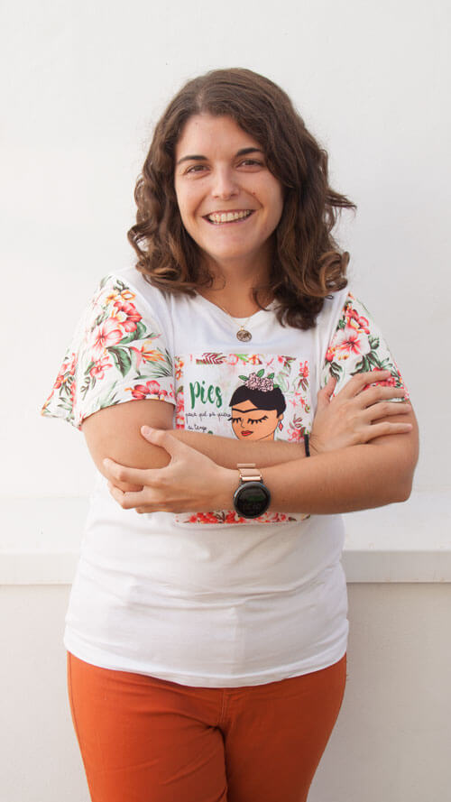 Laura Rebullida. Experta en visualización. Ingeniera Diseño Industrial