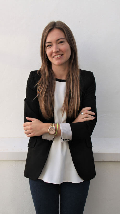 Carolina Caballero. COO. Directora de Operaciones. Arquitecto Técnico