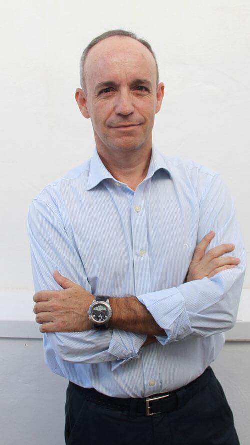 Tomás Guevara. Director departamento inversiones.