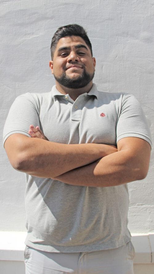 David Amador. Departamento financiero