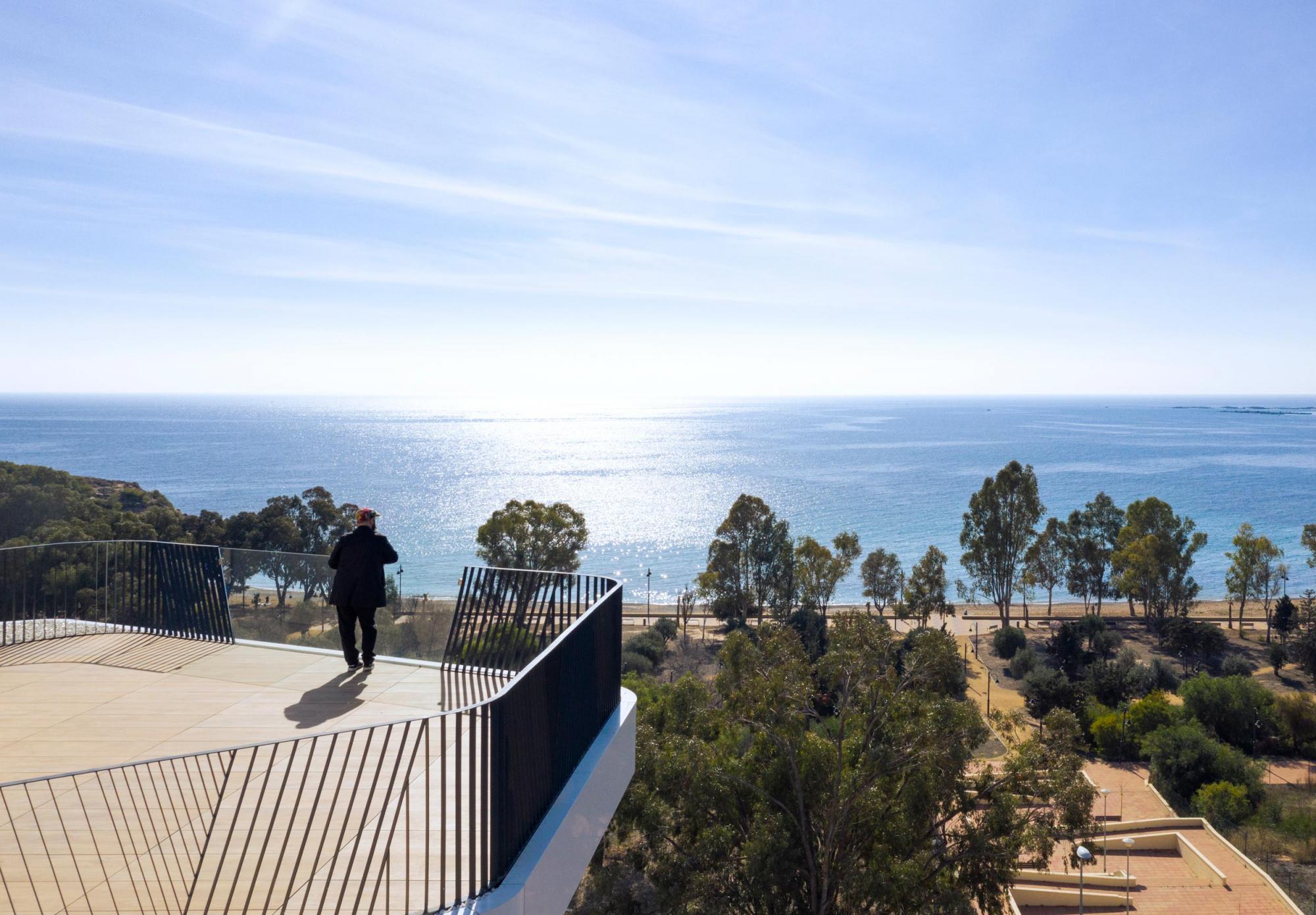 Vistas al mar Mediterráneo desde las terrazas de Allonbay Village