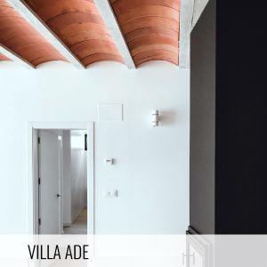 Proyectos de arquitectura. Bóvedas cerámicas interior Villa ADE